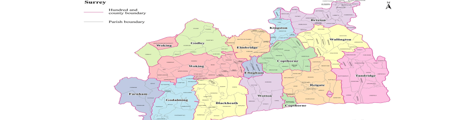 Map Of Covered Zones by Surrey Escorts