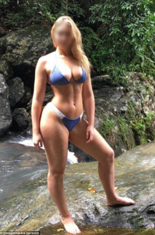 Marinela Curvy Blonde Escort in Surrey